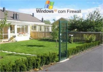 "Un toque de humor: ""El Firewall de Windows XP"""