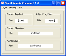 Gmail Remote Command: controla una PC remotamente por mail
