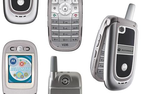 El Motorola V235 llega a la Argentina
