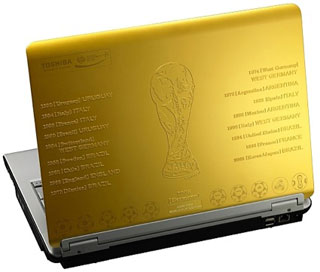 Toshiba dynabook 2006 FIFA World Cup Limited Edition