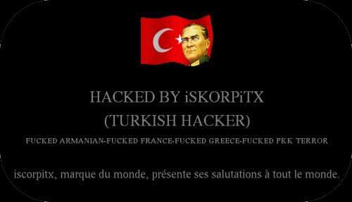 Un hacker turco piratea miles de webs