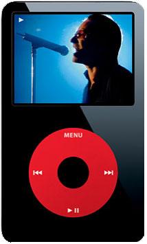 iPod U2 5G, la nueva versión