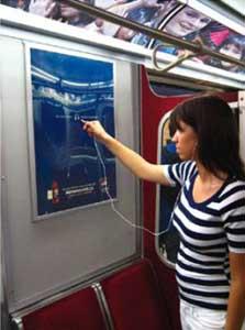 "Poster ""multimedia"" de Pepsi"