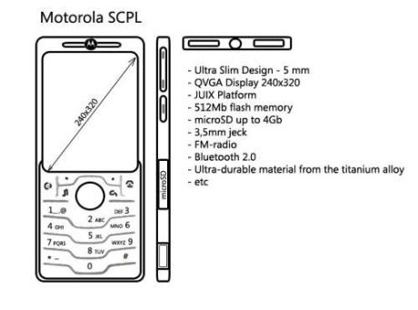 Los rumores sobre el Motorola SCPL se refuerzan