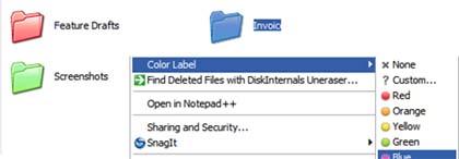 iColorFolder, a cambiar los colores de las carpetas