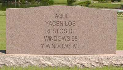 Windows 98 y ME morirán en solo días…