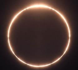 Eclipse anular de sol para mañana viernes