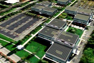 Googleplex se abastecerá con energía solar