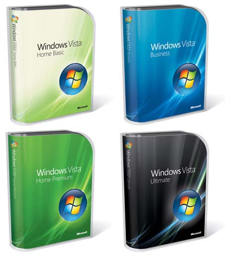 El diseño del packaging de Windows Vista y Office 2007
