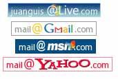 Generador de íconos de direcciones de email