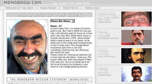 Monobrow.com, para que no te sientas discriminado
