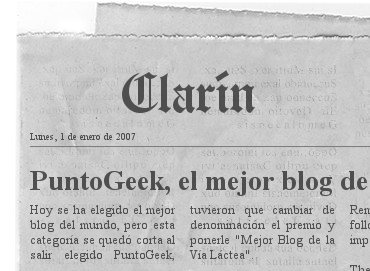 Generador de noticias en periódico
