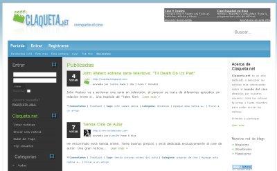 Claqueta.net, red social dedicada al mundo del cine