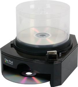 Disc Pod Dispenser, un dispenser para tus CD/DVD
