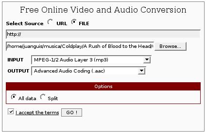 Media Convert vx2 – El conversor de formatos online más completo de la red