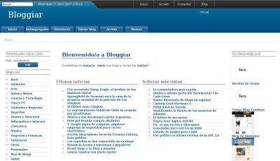 Bloggiar, más que un directorio de blogs