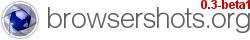 Browsershots – ¿Cómo se ve tu web desde distintos navegadores?