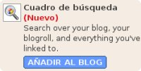 Nueva funcionalidad en Blogger Draft: Search Box
