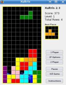 Xultris - Tetris para Firefox