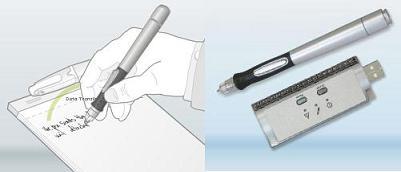 Bolígrafo digital que graba lo que escribes