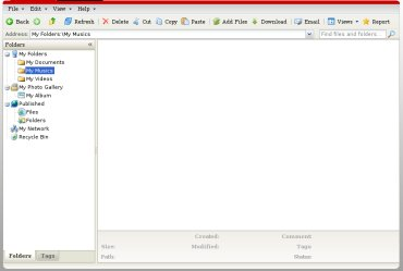 DigitalBucket ofrece 1GB de almacenamiento para ficheros