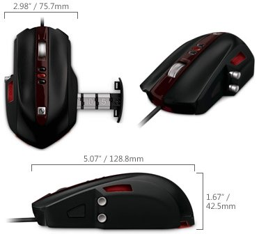 Microsoft SideWinder, mouse para gamers extremos