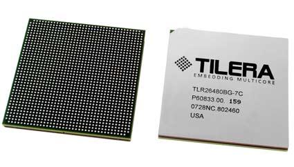 Tilera anuncia sus procesadores de 64 núcleos