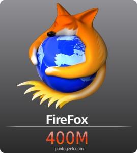 Firefox supera los 400 millones de descargas