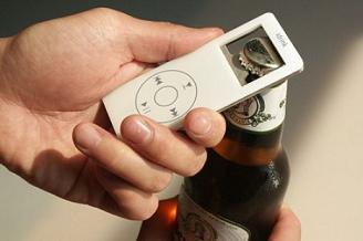 iDrink, destapador con forma de iPod
