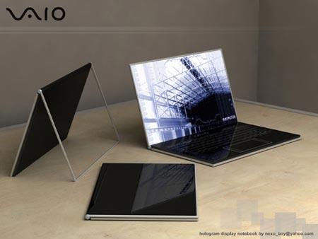 VAIO Zoom, concepto de laptop holográfica
