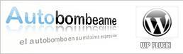 Integra Autobombeame a tu blog