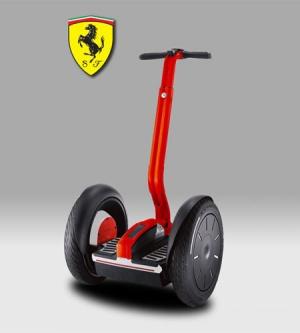 Segway edición limitada de Ferrari