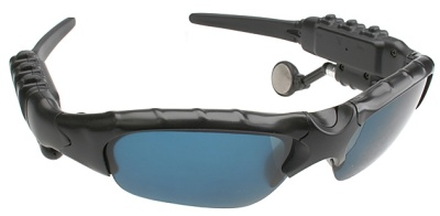 Gafas con reproductor de MP3 y conectividad Bluetooth