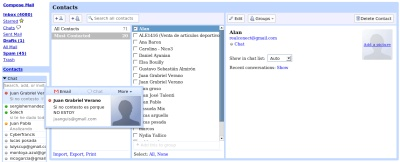 Gmail 2.0 disponible
