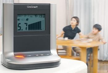 Gragraph, un sismógrafo hogareño
