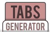 Generador de tabs online para tus diseños