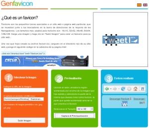 GenFavIcon, una nueva herramienta para crear favicons online