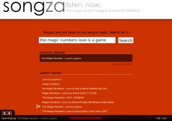 Busca y escucha música online con Songza