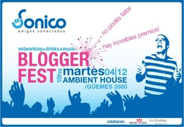Sonico Blogger Fest en Buenos Aires