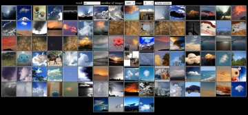 Busca fotos en Flickr a través de thumbnails