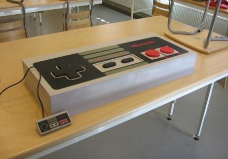 Mod inspirado en el mando de la NES