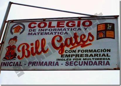 """Colegio """"Bill Gates"""" en Perú"""
