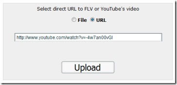 FLV2MP3, conversor de FLV a MP3 online