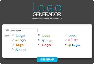 Logo Generador, nuevo generador de logos con estilo 2.0