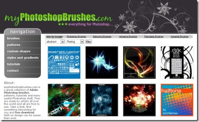 My Photoshop Brushes, brushes para Photoshop