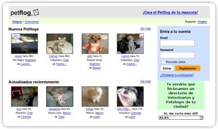 PetFlog, fotolog para mascotas
