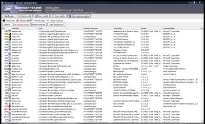 Controla los programas de inicio y hijacks con RunScanner