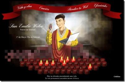 San Emilio Weber, el santo de internet