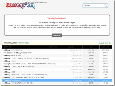 Torrent'EM, nuevo metabuscador de torrents