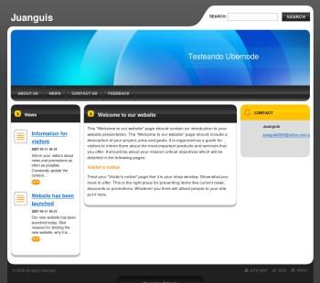 Crea tu página web en minutos con Webnode